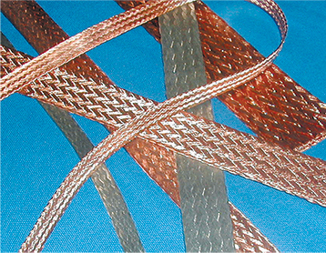 Flat Tinned Copper Braid